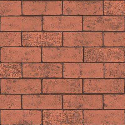 8 in. x 10 in. Kirsten Red Industrial Brick Sample