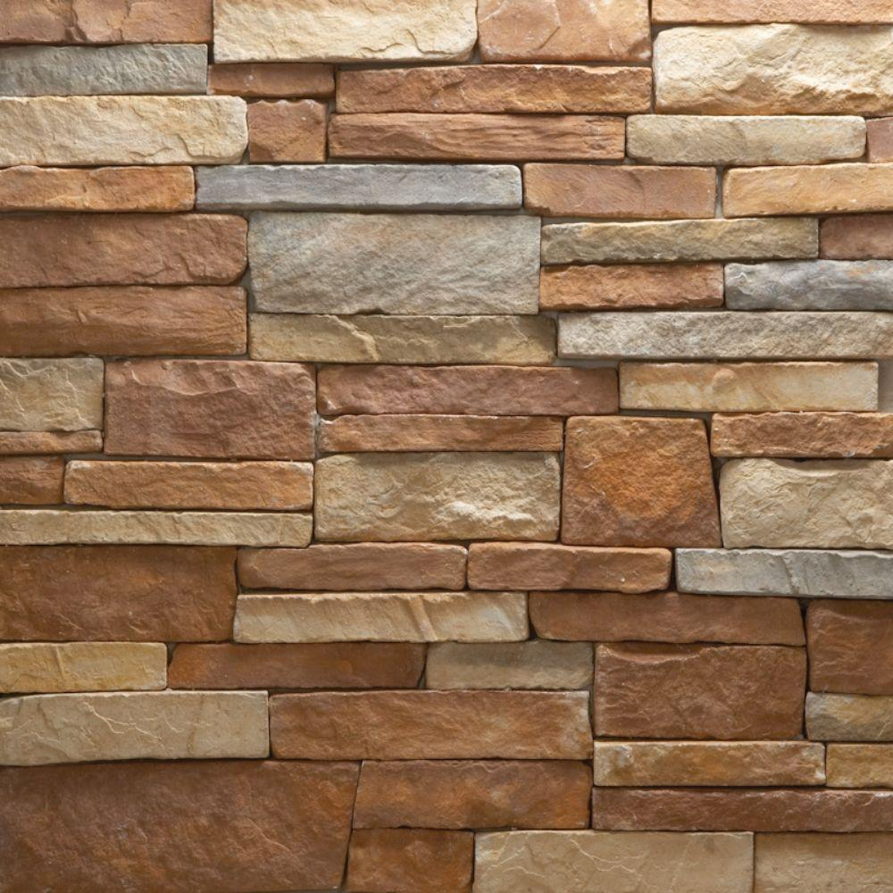 Veneerstone stacked stone mulhern flats 10 sq ft handy for Manufactured veneer stone