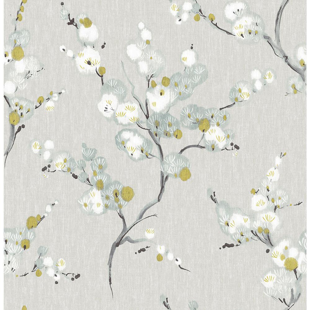 NuWallpaper 8 in. x 10 in. Mirei Peel and Stick Wallpaper