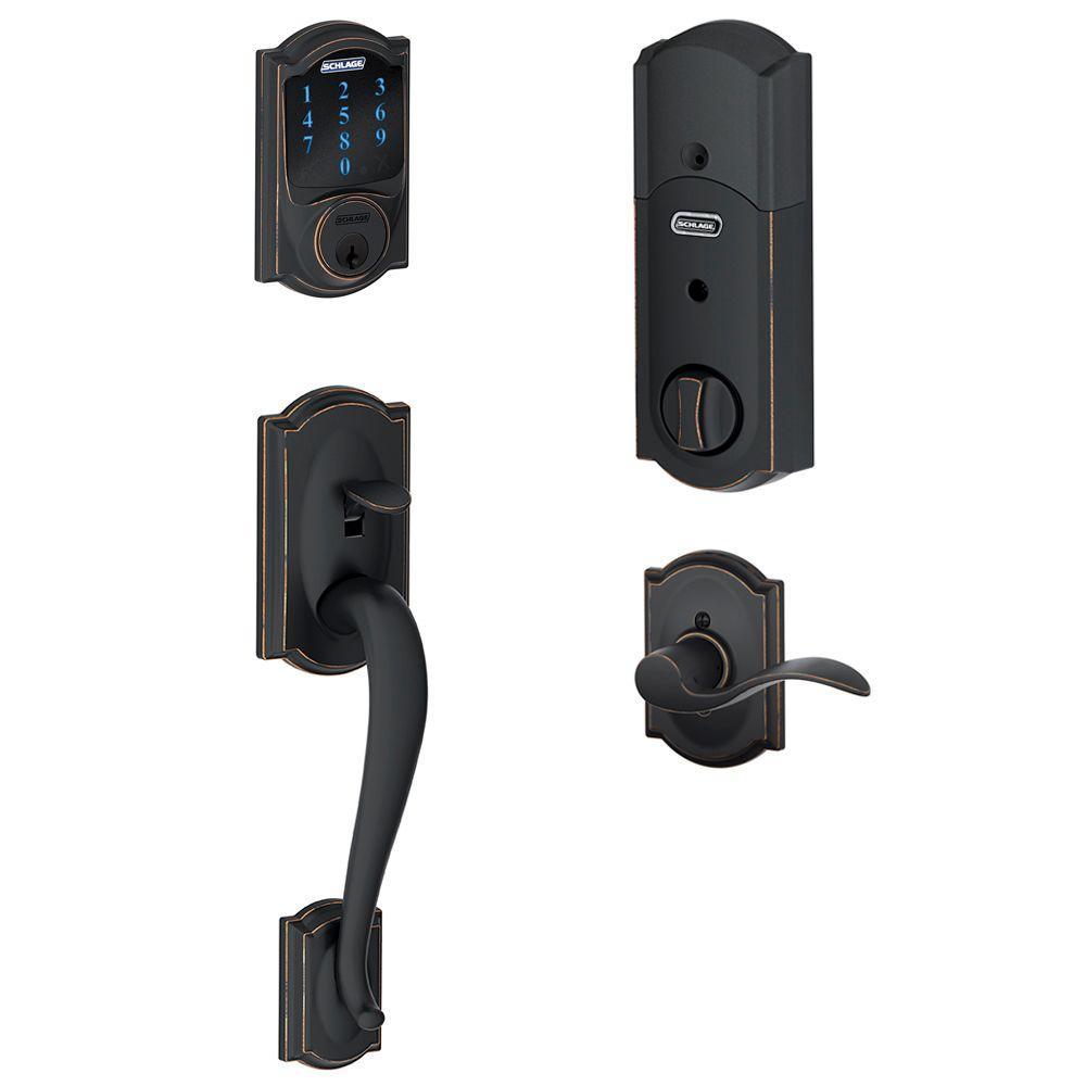 front door keyless entryElectronic Door Locks  Door Knobs  Hardware  The Home Depot