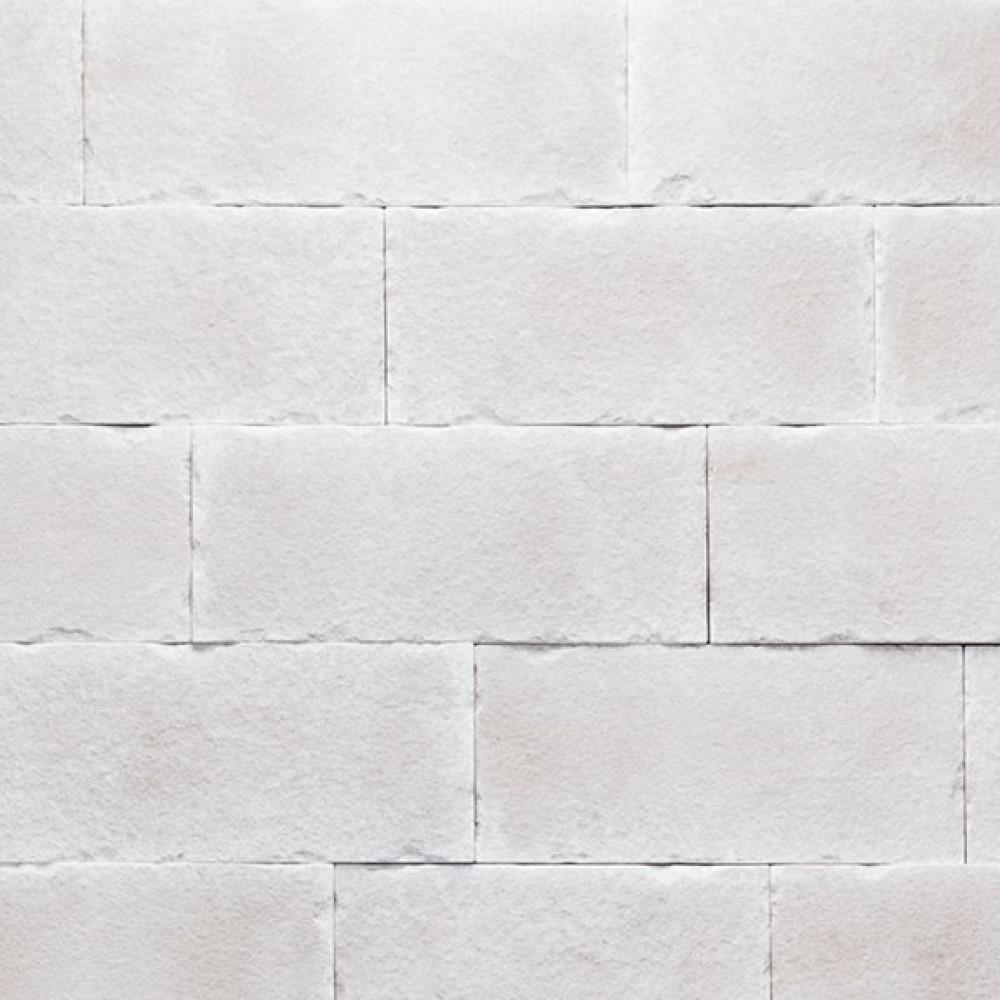 Boral Versetta 36 in. x 8 in. Stone Carved Block Sea Salt Stone Veneer Flat Panel (6-Bundles per Box), Sea Salt White -  4210231