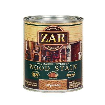 138 1 qt. Spanish Oak Wood Interior Stain (2-Pack)