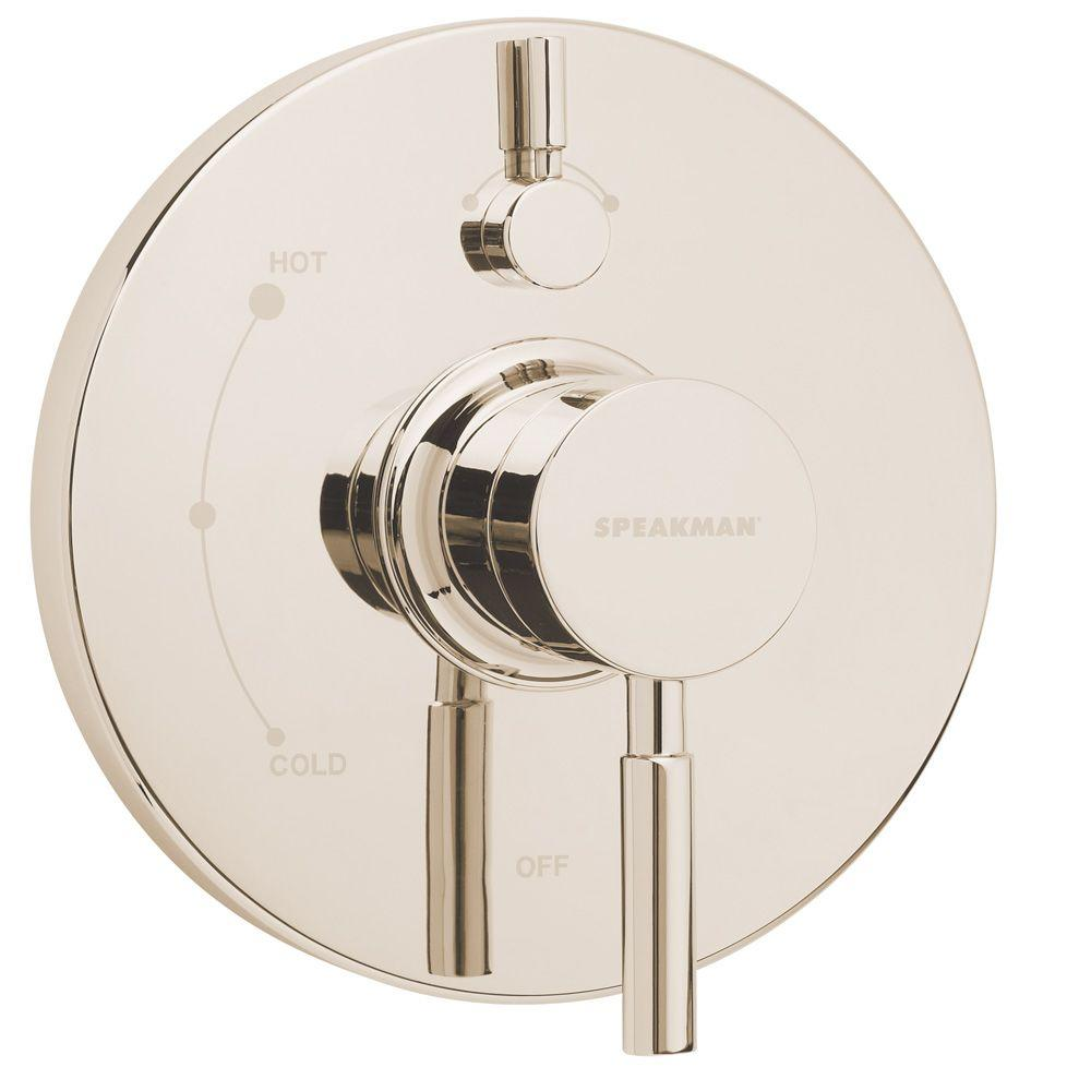 Speakman Neo Pressure Balance Valve and Trim in Polished Nickel-DISCONTINUED