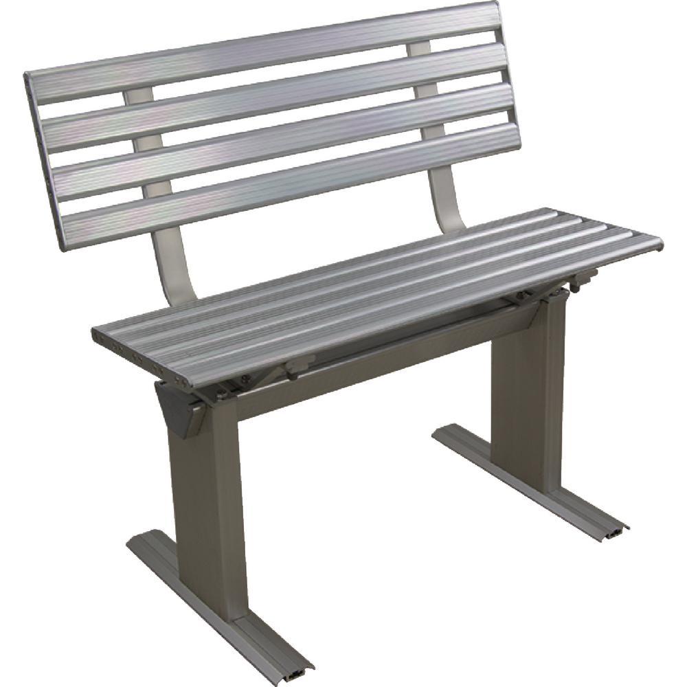 Dock Bench, Aluminum