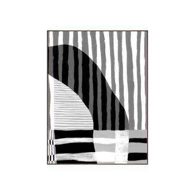 "33.25 in. x 25.25 in. ""Visions III"" by Bobby Berk Printed Framed Wall Art"