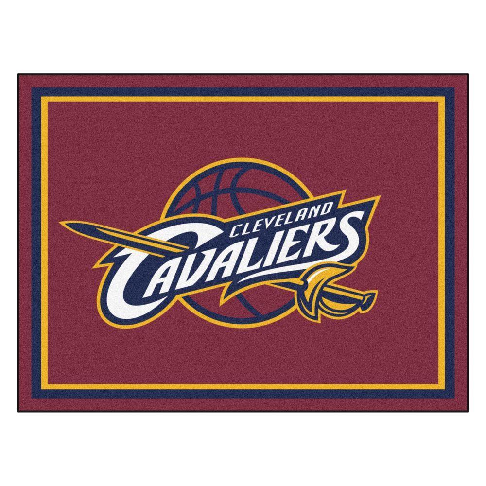 Fanmats Nba Cleveland Cavaliers Burgundy 8 Ft X 10 Ft