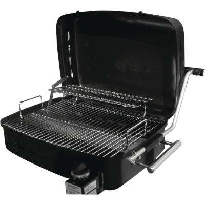 Portable Gas Grill in Stainless Steel