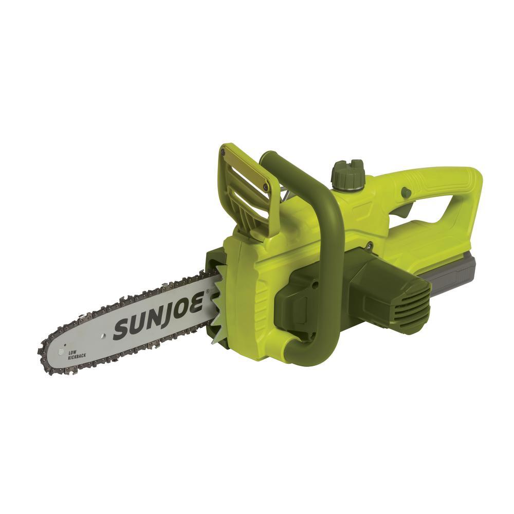Sun Joe 10 inch 2-amp 20-volt Cordless Electric Chainsaw by Sun Joe