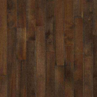 Prestige Cappuccino Maple 3/4 in. Thick x 5 in. Wide x Random Length Solid Hardwood Flooring (23.5 sq. ft. / case)