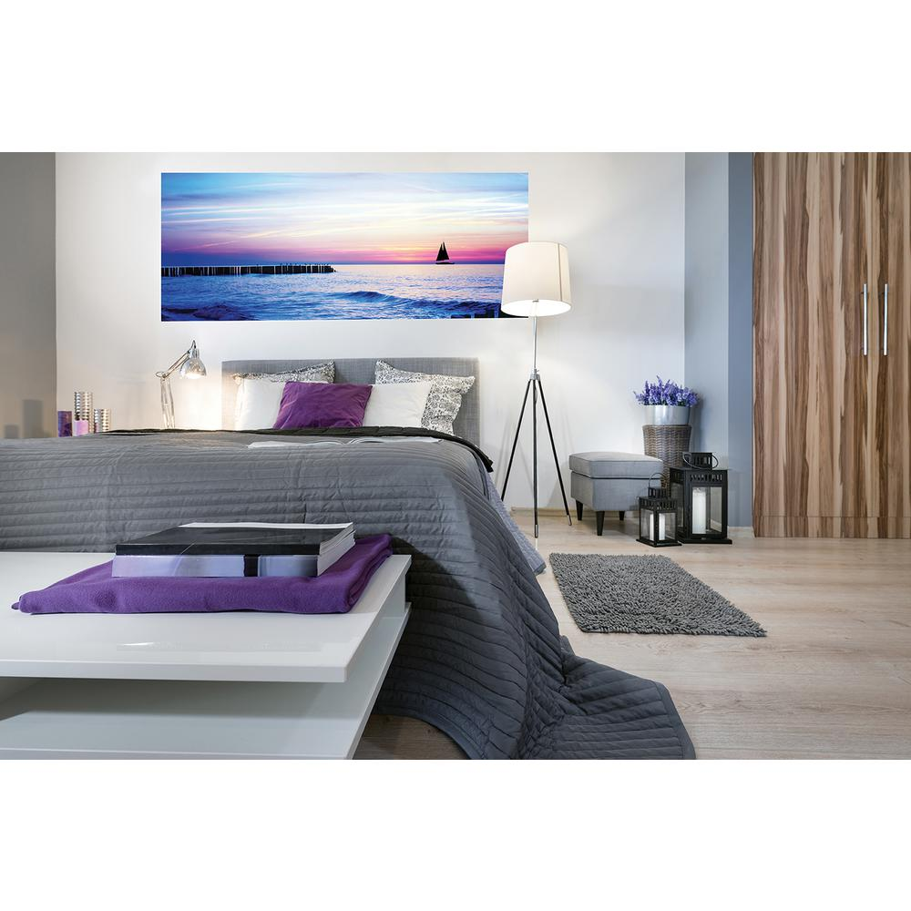 Wall murals floral the home depot sailboat panoramic wall mural amipublicfo Gallery