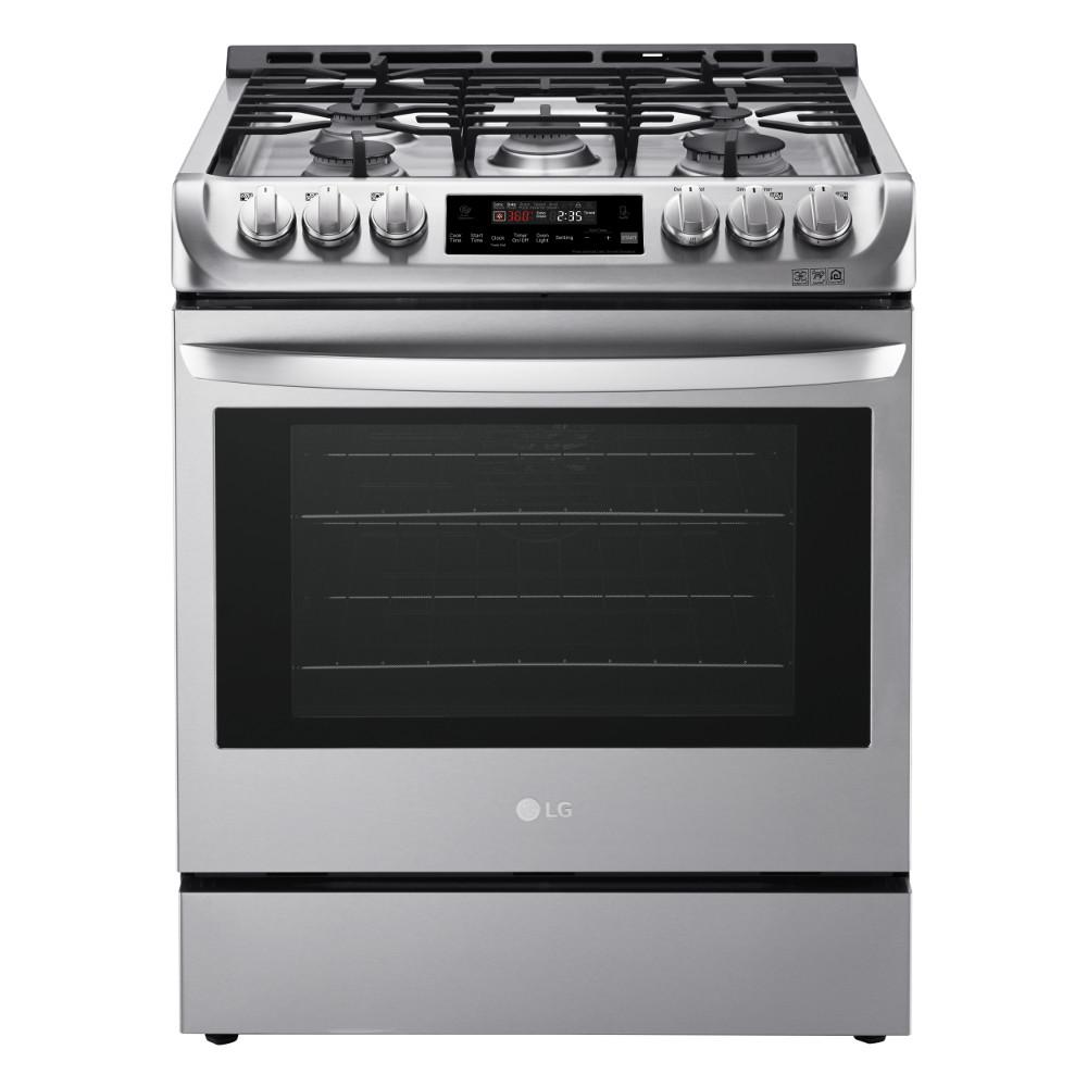 Slide In Gas Range With Probake Convection Oven