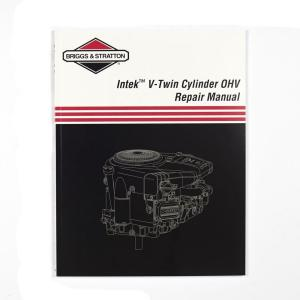 briggs stratton repair manual for single cylinder ohv 276781 the rh homedepot com Briggs and Stratton 550 Parts Briggs and Stratton Engine Identification