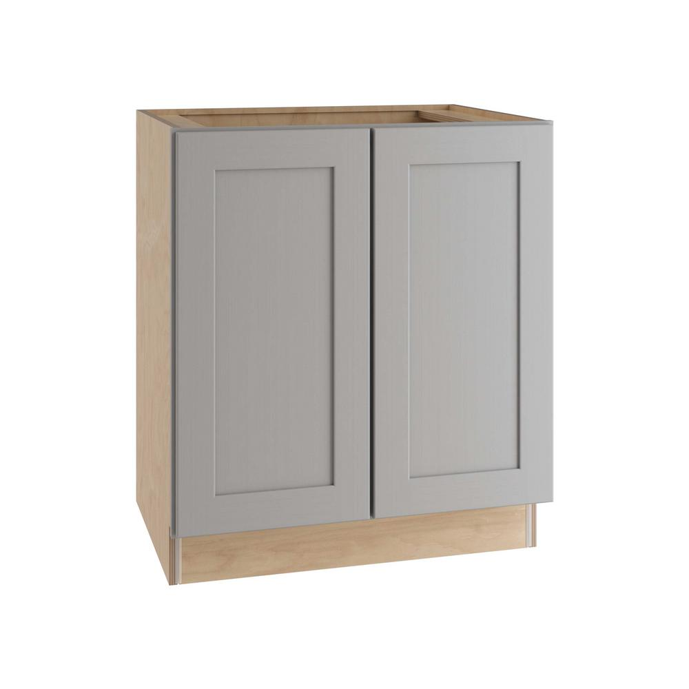 Home Decorators Collection Tremont Assembled 27 X 34.5 X 24 In. Base Kitchen Cabinet With 2 Soft