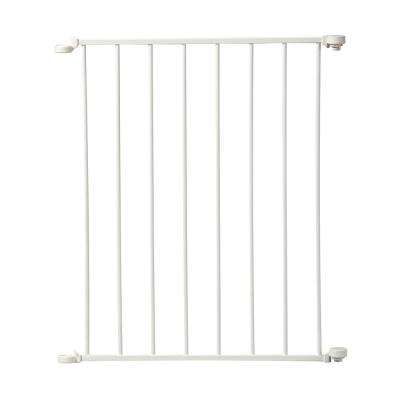 24 in. Extension For Auto Close Configure Gate in White