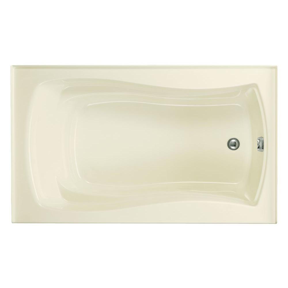 Mariposa 5 ft. Right-Hand Drain with Integral Tile Flange Acrylic Bathtub