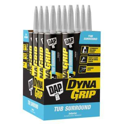 DYNAGRIP 10.3 oz.  Tub Surround Construction Adhesive (12-Pack)