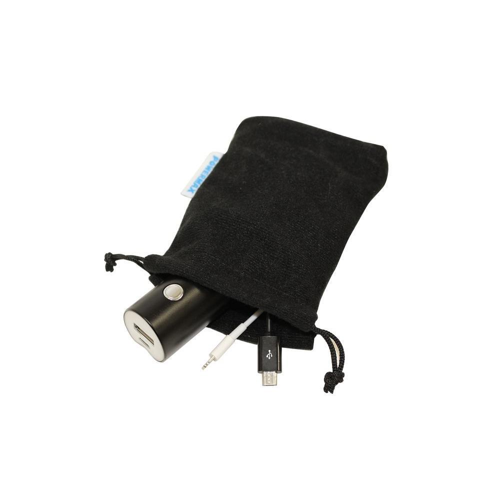 Powermax 2800mAh Portable Smartphone Charger, Black