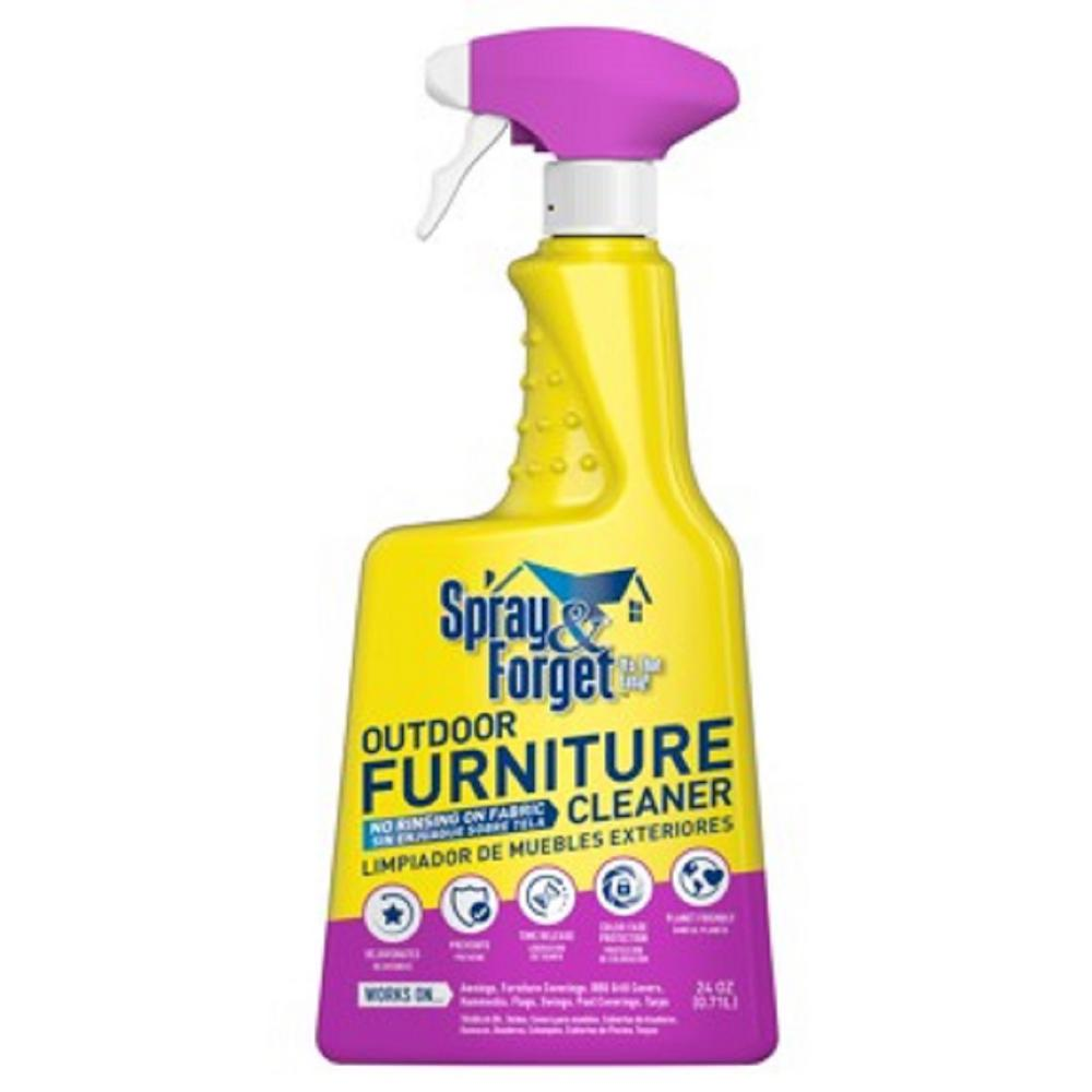 Spray and forget 24 oz outdoor furniture cleaner