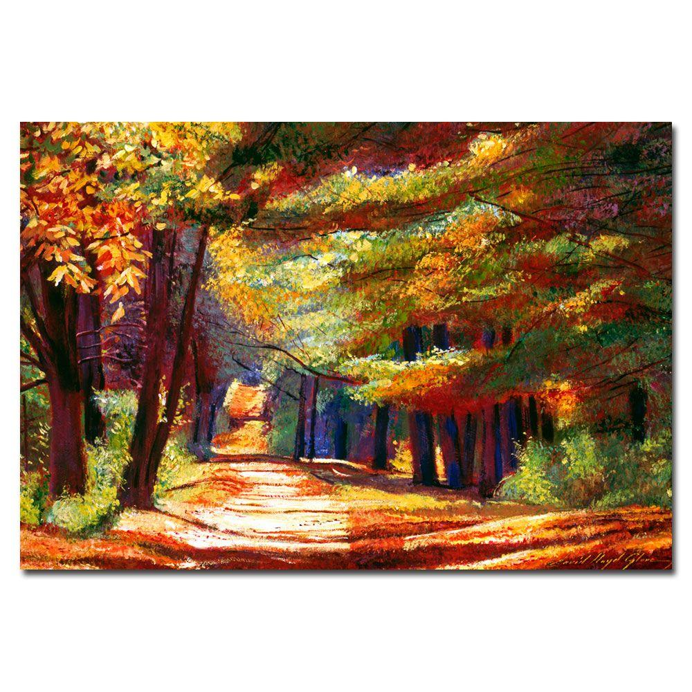 22 in. x 32 in. September Song Canvas Art