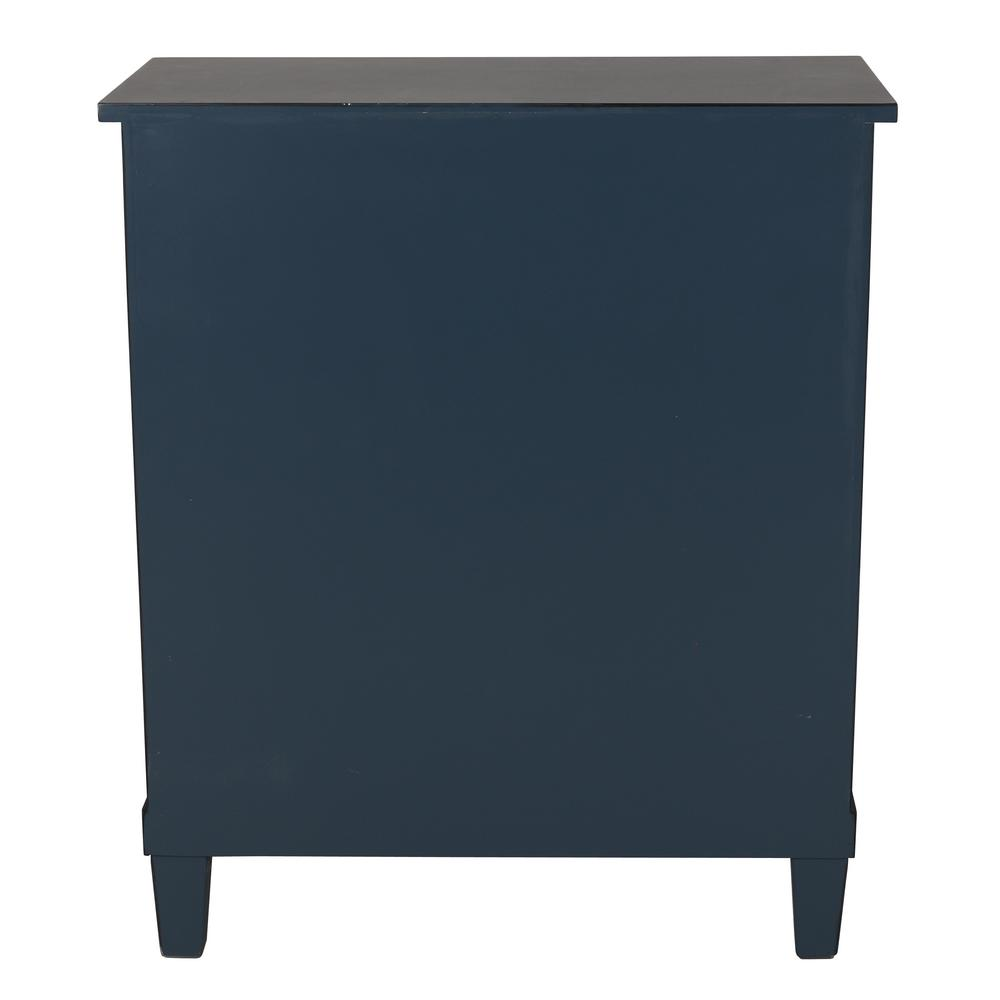c1da23303b Decor Therapy Becket Antique Navy Side Table FR8674 - The Home Depot