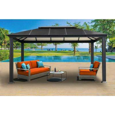 Paragon 11 ft. x 16 ft. Aluminum Hard Top Gazebo