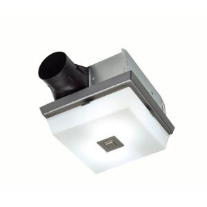 Nutone Bathroom Fan With Light nutone 70 cfm ceiling exhaust fan with light, white grille and