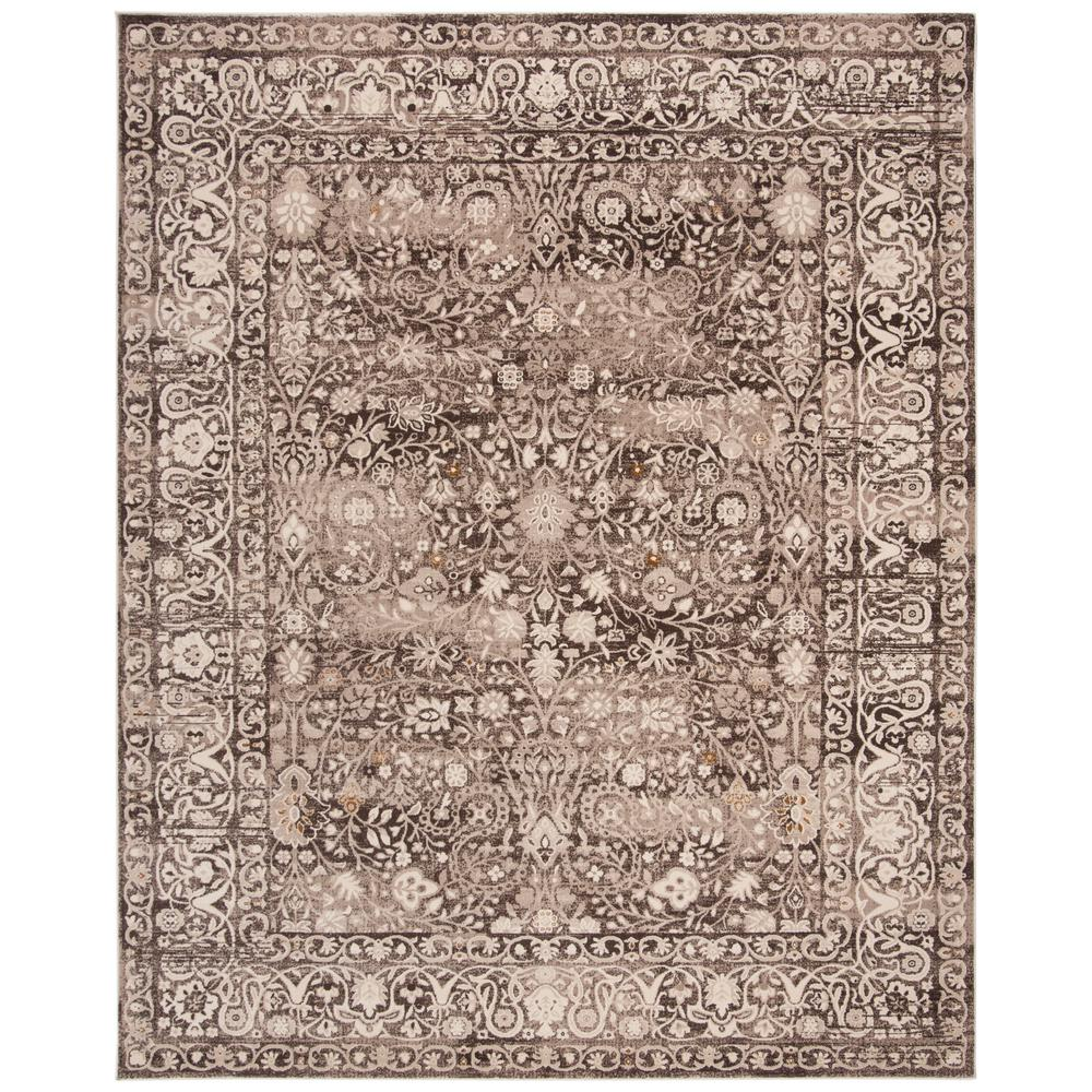 Serenity Brown Cream 9 Ft X 12 Area Rug
