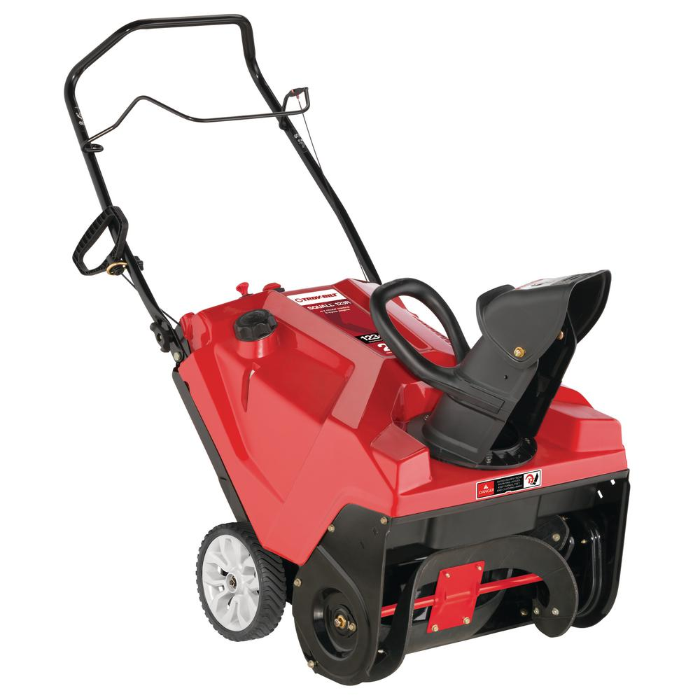 Troy-Bilt Squall 21 in. 123 cc Single-Stage Gas Snow Blower with Recoil Start and E-Z Chute Control