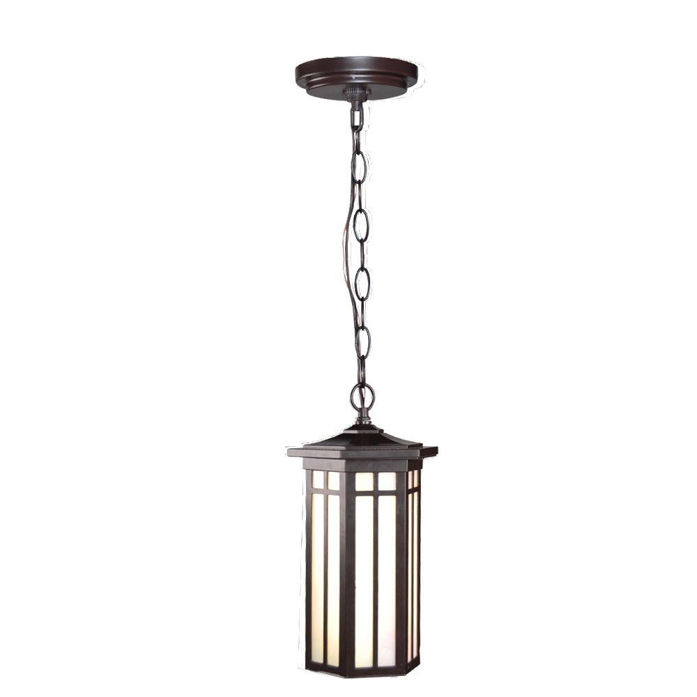 LED Outdoor Hanging Antique Bronze Light