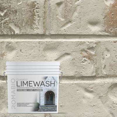 0.67 Gal. Nube Gray Limewash Interior/Exterior Paint