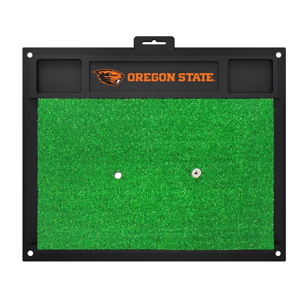 NCAA Oregon State University 17 in. x 20 in. Golf Hitting