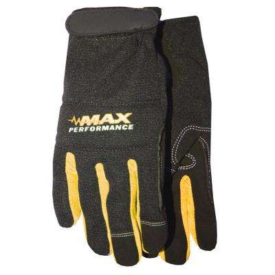 Yellow Max Performance Synthetic Leather Palm