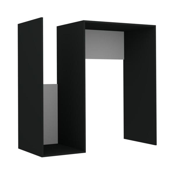 Ada Home Decor Saka Anthracite Modern Side Table