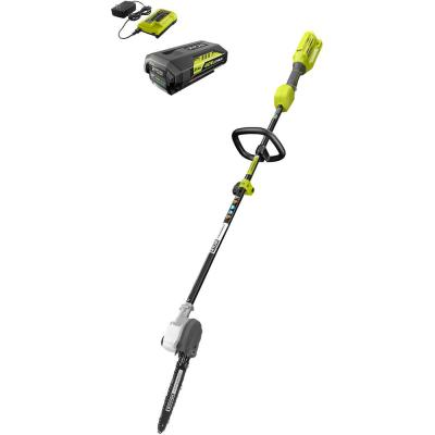 10 in. 40-Volt Lithium-Ion Cordless Pole Saw, 2.0 Ah Battery and Charger Included