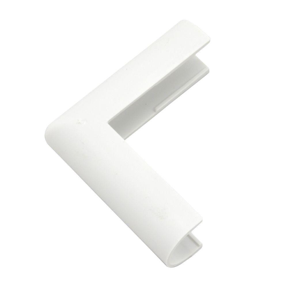Legrand Wiremold Cordmate Outside Elbow, White