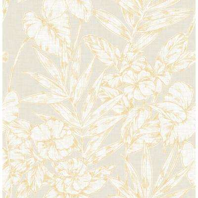 Yes Yellow Free Shipping Wallpaper Home Decor The Home Depot