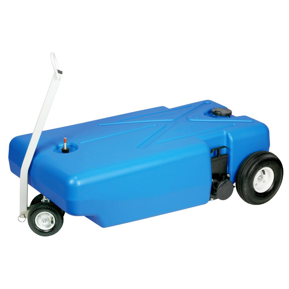 Barker Tote-Along 4-Wheeler 42 Gal  RV Waste Tank