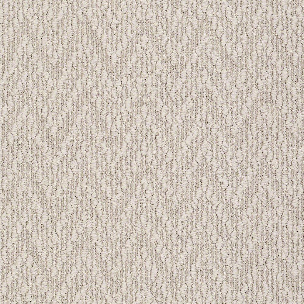 Carpet Sample - Uptown - In Color Fossil 8 in. x 8 in.
