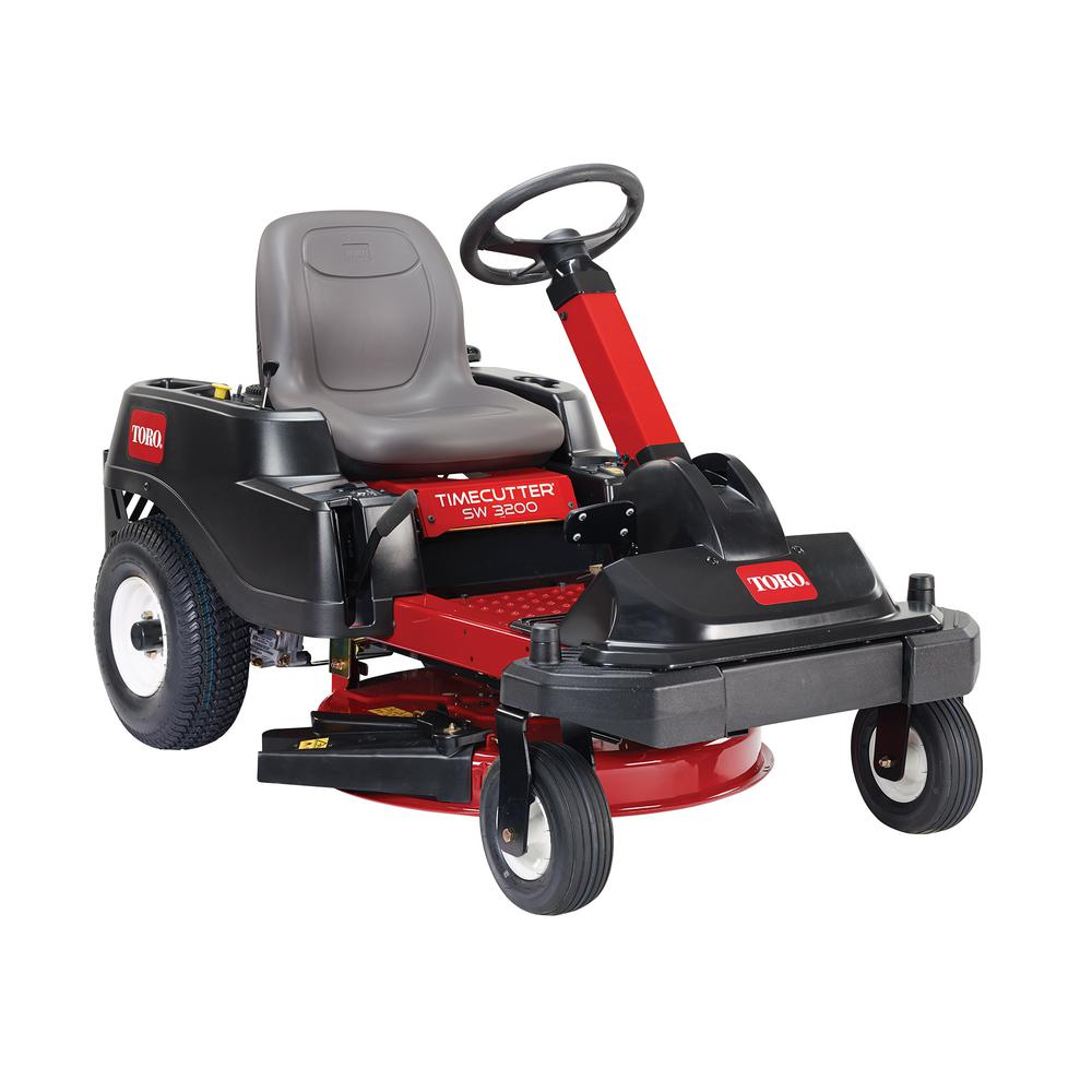 Toro TimeCutter SW3200 32 in. 452cc Zero-Turn Riding Mower with Smart Park