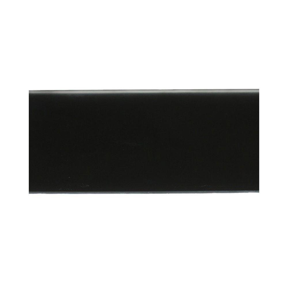Splashback Tile Contempo Classic Black Frosted Glass Tile Sample