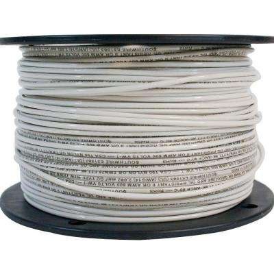 Stranded 14 wire electrical the home depot 14 white stranded cu thhn wire greentooth Choice Image