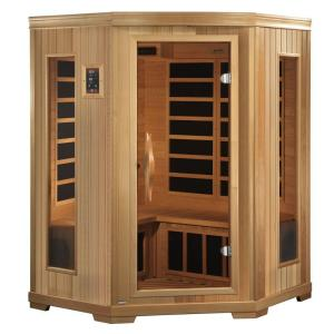 Better Life 3-Person Far Infrared Healthy Living Sauna with Chromotherapy and CD/Radio with MP3 Connection by Better Life