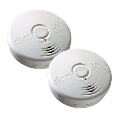 10-Year Sealed Battery Smoke and Carbon Monoxide Combination Detector (2-pack)