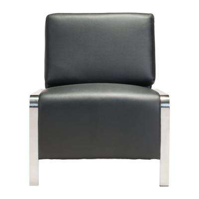 Thor Black Armless Chair