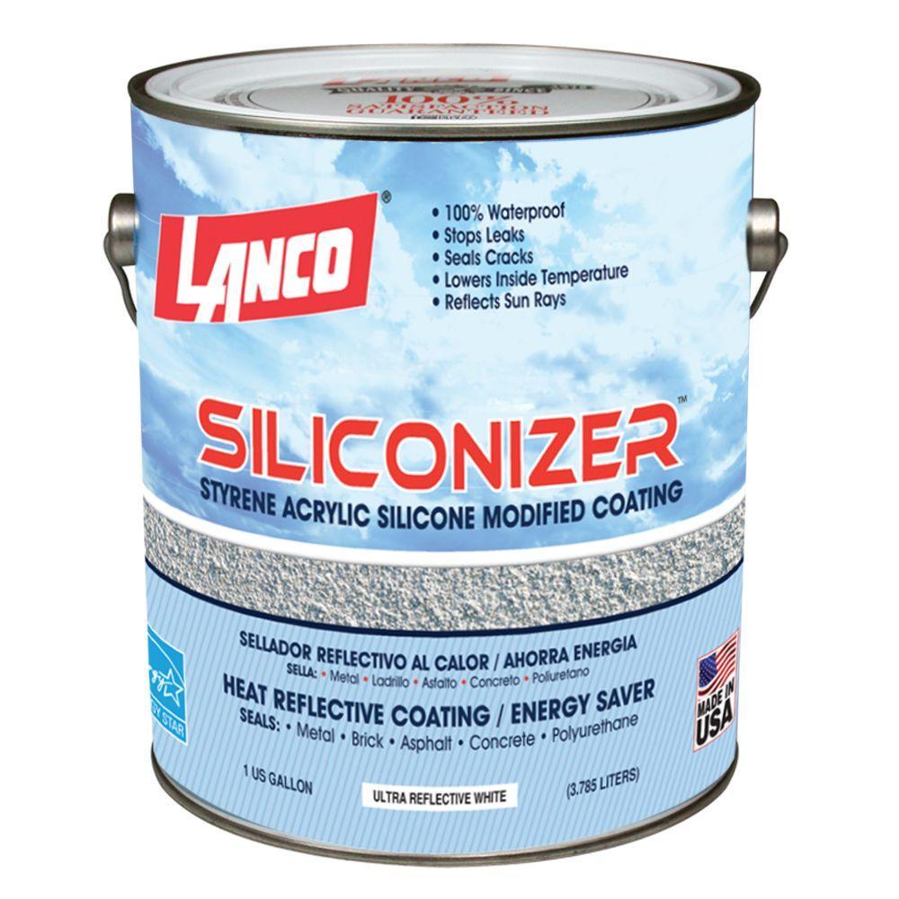 1 Gal. Siliconizer Elastomeric Roof Coating