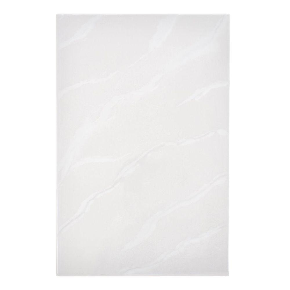Merola Tile Marbella Gris 9-1/4 in. x 14 in. Ceramic Wall Tile (11 sq. ft. / case)-DISCONTINUED