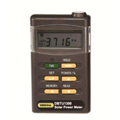 Digital Solar Power Meter
