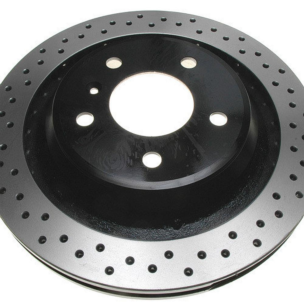 Raybestos Rear Advanced Technology Disc Brake Rotor fits 2005-2008 Pontiac Grand Prix