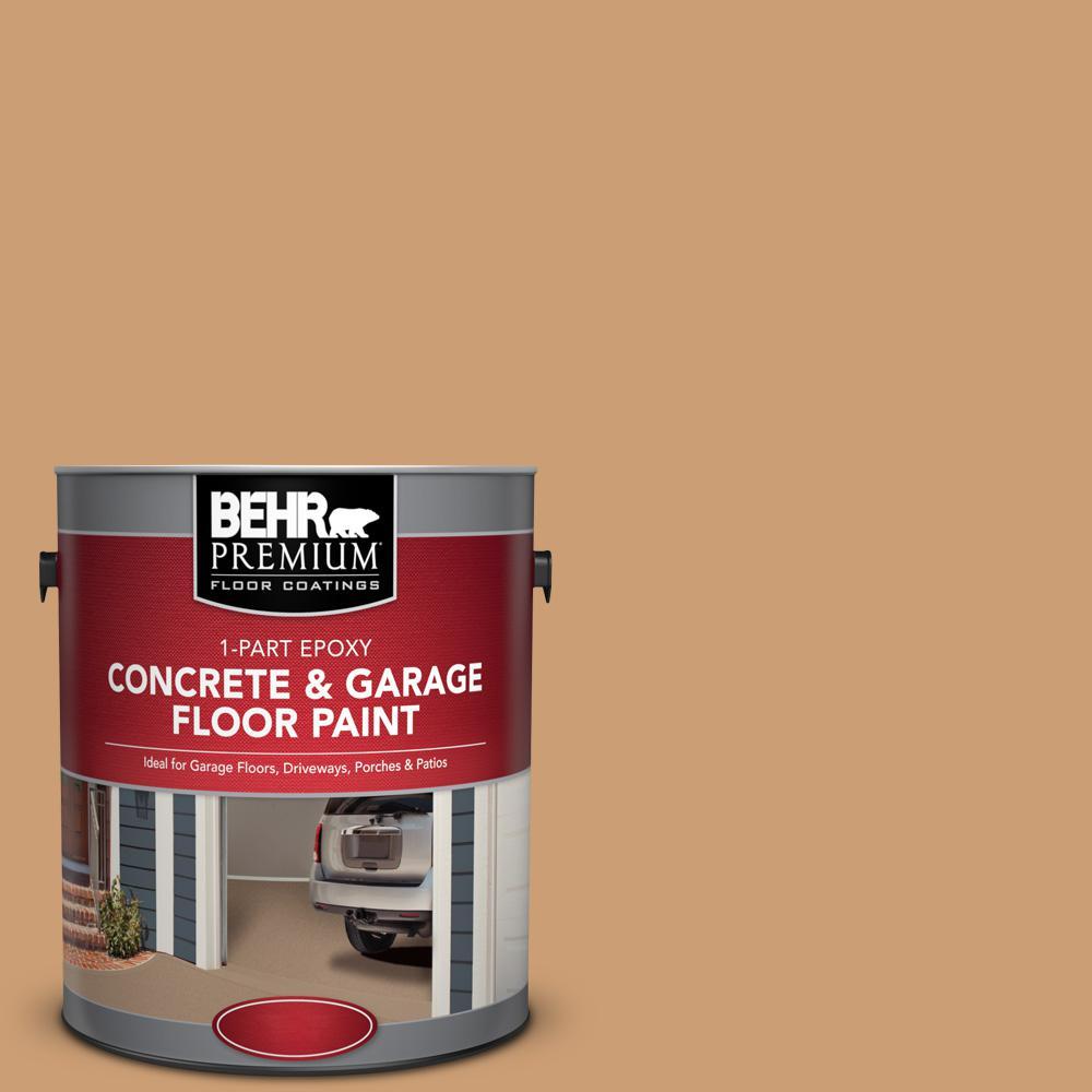 1 gal. #S250-4 Fresh Croissant 1-Part Epoxy Concrete and Garage Floor Paint