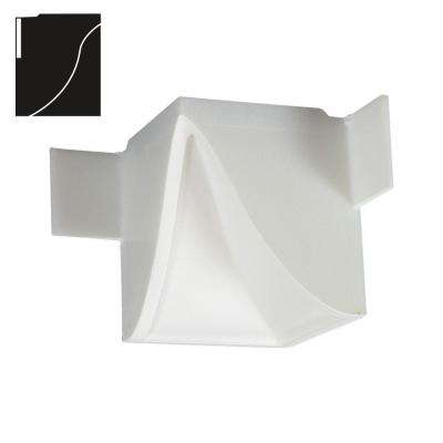 3-1/4 in. x 3-1/4 in. x 4-1/8 in. Economy Inside Corner Plastic Crown Moulding